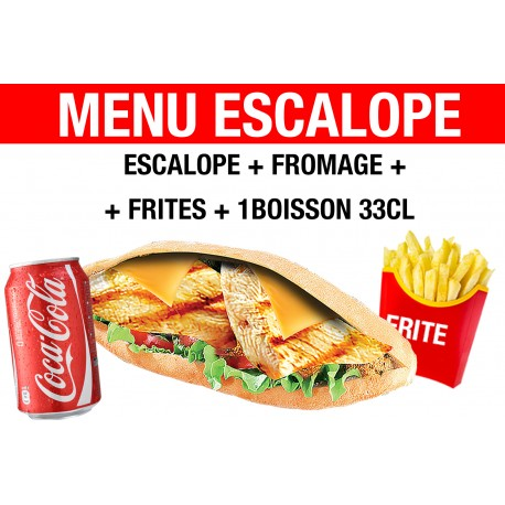 MENU ESCALOPE