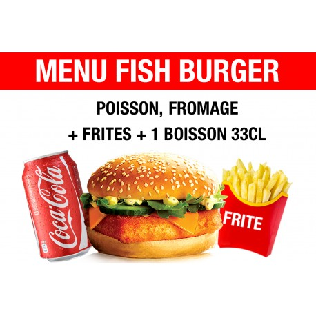 MENU FISH BURGER